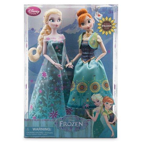 Frozen Fever - Anna und Elsa Puppenset - Disney Sammler-puppen