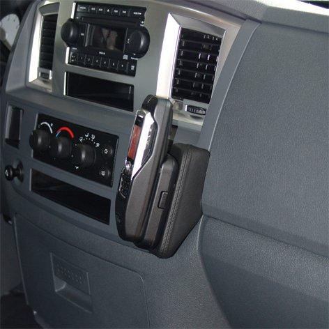 g Echtleder schwarz für Dodge RAM (DR/DH Trucks) ab 2006 bis 2009 (Facelift) ()