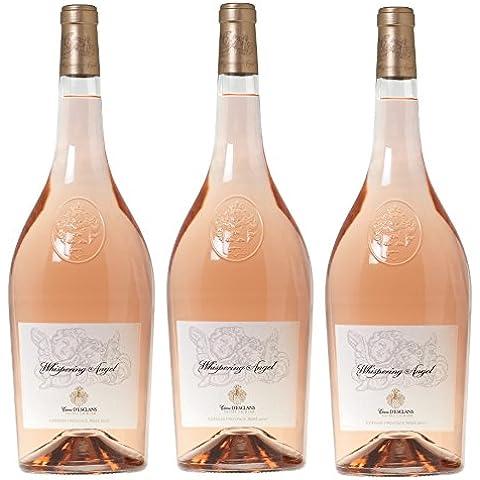 Whispering Angel Rosé 2015 Mágnum 1,5 lt.(caja 3 botellas)- Variedades Cannonau, Vermentino, Cinsault