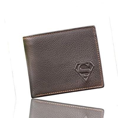 shopiness–Portefeuille en cuir Superman