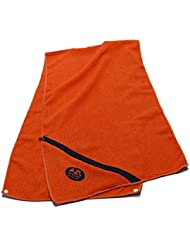 Towel Orange Sport mano m Funda y clips® Axl Naranja Fitness toalla de mano