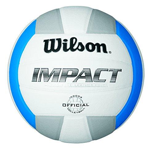 Wilson Volleyball, Indoor, Wettbewerbsspieler, Impact, Weiß/ Blau/