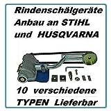 Uzman-Versand 3590 Entrindungsgerät, für Husqvarna 357 359 und Jonsered JNS 2156 2159 Entrinder Schälgerät Rindenschälgerät Rindenschäler Schälmesser Entrindungsmaschine Motorsäge (3590)