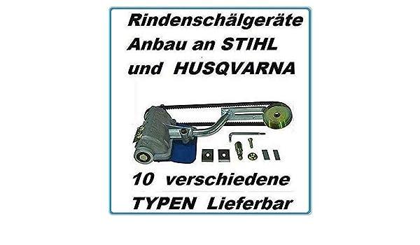 Kompatibel Entrindungsger/ät z Anbau Stihl 038 MS 380 MS 381 sch/älger/ät entrindungsger/ät entrindungsmaschine f/ür motors/ägen motors/äge Entrinder Sch/älger/ät