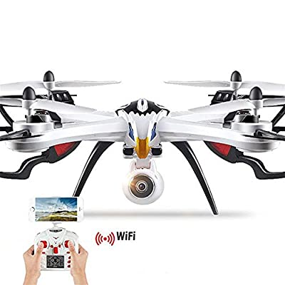 OOFAY Drone with Camera X8 Large Fall-Proof Aerial Shot Remote Control Aircraft Wifi Real-Time Transmission Quadcopter by OOFAY