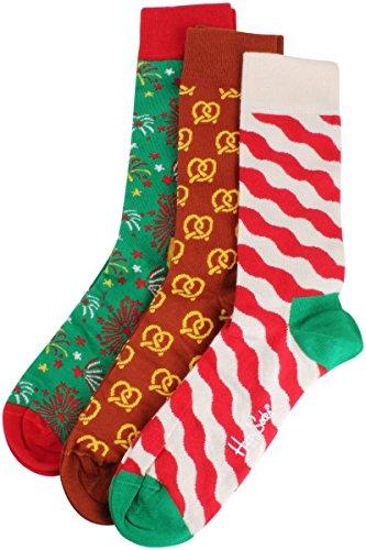 41-46 3 stück//Socken Gr.//Sz Happy Socks Happy Holidays