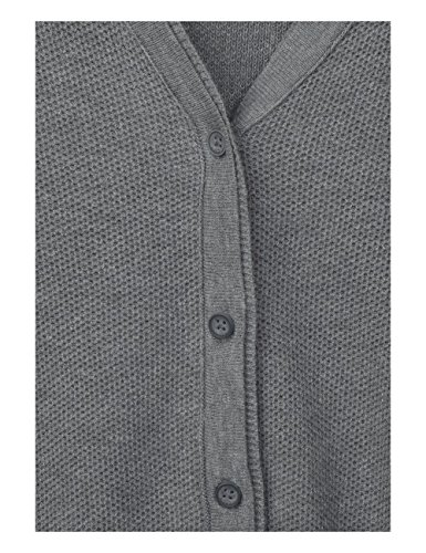 Cecil Damen Strickjacke Grau (Light Graphit Melange 10601)