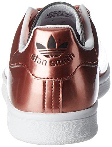 Cobre Adidas Metálico Smith Zapatos cobre Ginnastica Metálico Smith Metálico Blanco bd1aaa