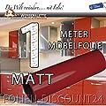 Klebefolie Möbelfolie Bordeaux Matt 3153 PREIS TIP ! (1 Meter x 61 Zentimeter) von Folien-Discount24 bei TapetenShop