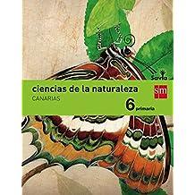 Ciencias de la naturaleza. 6 Primaria. Savia. Canarias - 9788467580136