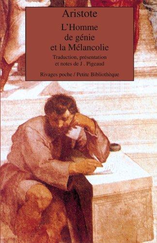 L'homme de génie et la mélancolie