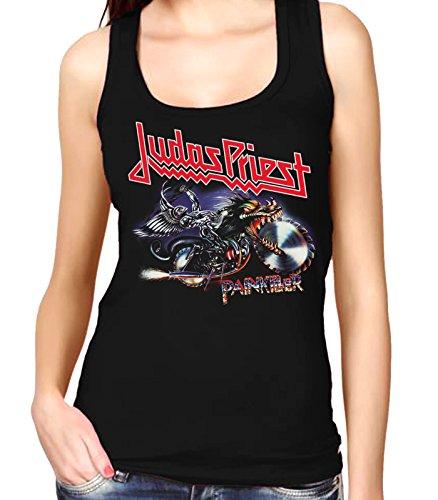 35mm - Camiseta Mujer Tirantes - Judas Priest - Painkiller - Women'S Tank Top, NEGRA, S