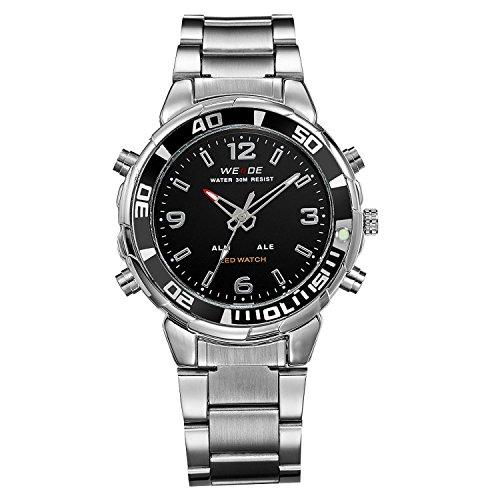 uomini-abito-argento-orologio-metallo-fascia-orario-doppio-analogico-digitahi-quadrante-nero-led-di-