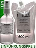 ROSENWASSER 500 + 100-ml bio vegan halal koscher Lebensmittel Qualität 100% naturrein Rosa...