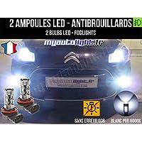 Bombillas LEDs antibrouillards para Citroen C3 II