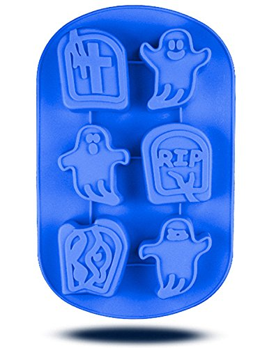 t Silikon Form DIY 3D Süßigkeiten Schokolade Eis Form handgefertigte Seife Form (6Hohlraum) ()