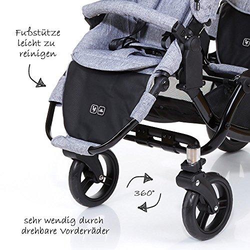 ABC Design Zoom – Zwillings- und Geschwisterkinderwagen - 6