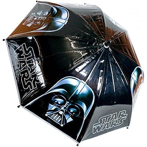 Set paraguas infantil DARTH VADER FONDO NEGRO DE STAR WARS y PACK CALCETINES MARCA TIENDADELEGGINGS