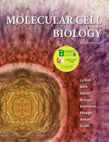 Loose-leaf Version for Molecular Cell Biology by Harvey Lodish (2012-05-04)