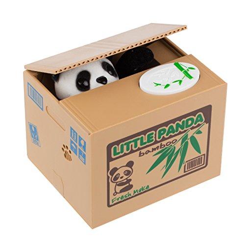 TiooDre Hucha Gato, Hucha Panda, Hucha Gato Roba Monedas