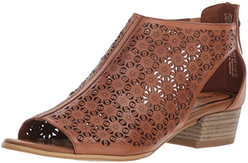 Tamaris 28140-20 Damen Elegante Sandalette aus Glattleder 'Touch-it'-Innensohle, Groesse 40, Cognac