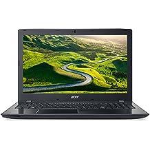 "Acer Aspire E15 E5-523 - Portátil de 15,6"" HD (procesador AMD A9, 8 GB RAM, 1 TB HDD, AMD Radeon R5 Graphics, Windows 10), color negro - Teclado QWERTY Español"