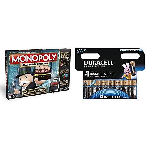 Monopoly - Electronic banking Hasbro B6677105 Duracell