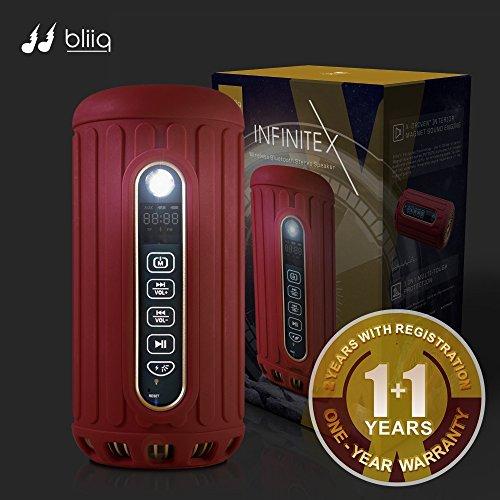 bliiq-infinite-x-portable-bluetooth-wireless-speaker-waterproof-dustproof-shockproof-w-built-in-powe