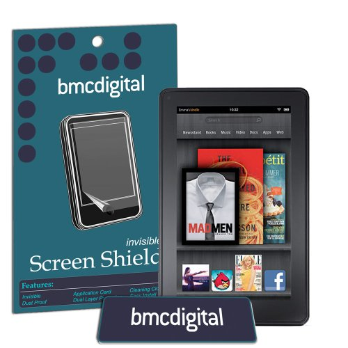 Modern-Tech Invisible Screen Protector / Shield for Amazon Kindle Fire eReader/ Tablet (Invisible Shield Für Den Kindle)