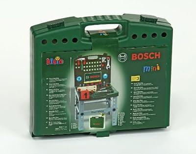 Bosch - Banco de trabajo en maletín con banderola (Theo Klein 8681)