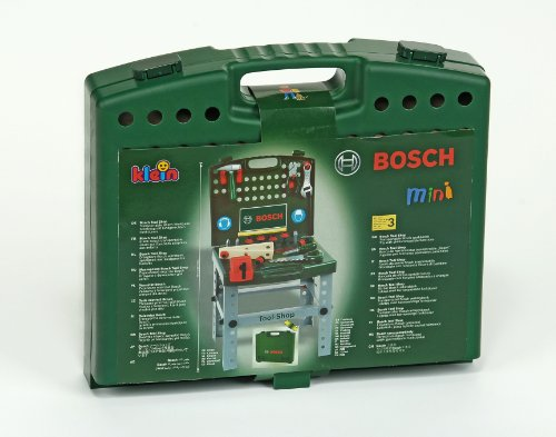 Theo Klein 8681 - Bosch Werkbank-Koffer, Spielzeug