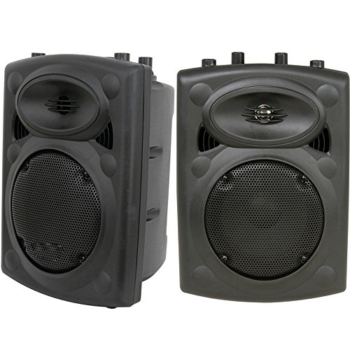 Paar Passive of- 400W 30,5cm geformt Lautsprecher-Stoßfest 8ohm-Disco Party Speakon