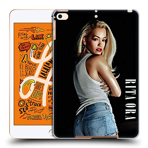 Head Case Designs Offizielle Rita Ora Kalender Februar Kunst Harte Rueckseiten Huelle kompatibel mit iPad Mini (2019)