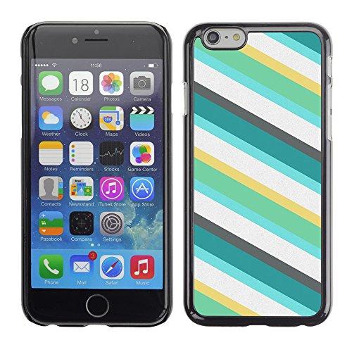 Graphic4You RED STRIPES Muster Harte Hülle Case Tasche Schutzhülle für Apple iPhone 6 / 6S Design #19
