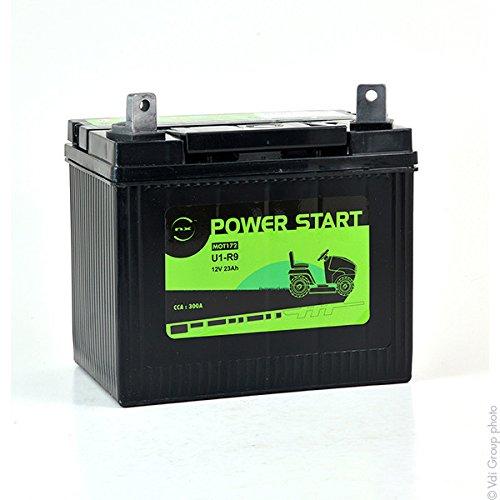 nx - batterie per motocoltivatori u1-r9 12v 23ah
