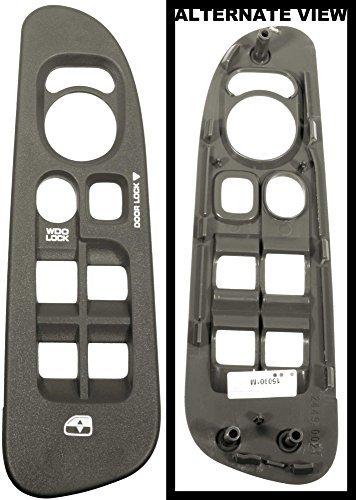 APDTY 5HZ71ZJ8AE Power Window Master Switch Plastic Bezel Trim Fits Front Left 2002-2005 Dodge Ram Pickup 1500 2500 3500 (Khaki; Replaces 5HZ71ZJ8AE, 5HZ71ZJ8AD) by