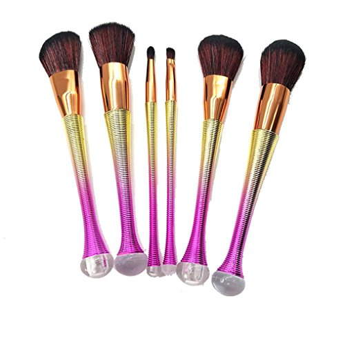 Beauté Top 6PCS Pro Makeup Cosmetic Brushes Set Powder Foundation Shadow Eye Shadow Brosse