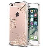 Coque iPhone 6s, Spigen [Liquid Crystal] Ultra Mince, Souple, Silicone [Shine Blossom] Fine, Motif Fleur, Coque pour iPhone 6 / 6S (035CS21219)