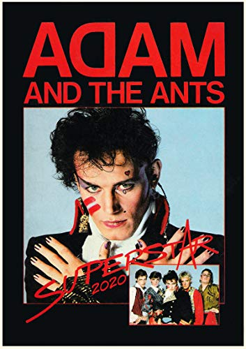 Adams Vintage Rock (2019 Kalender [12 Pages 20x30cm] Adam and The Ants Rock Music Vintage Poster Magazine Cover)
