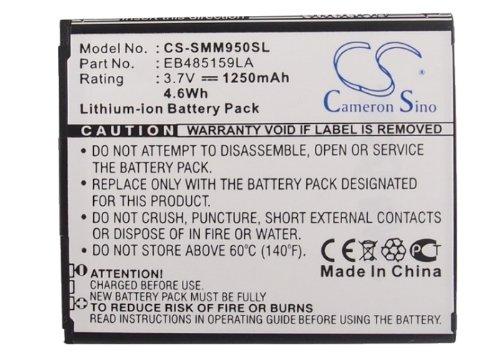 CS-SMM950SL Akku 1250mAh Kompatibel mit [Samsung] Galaxy Reverb, Galaxy Xcover 2, Galaxy Xcover II, GT-S7710, SPH-M950, SPH-M950DAAVMU, [Virgin Mobile] Galaxy Reverb, SPH-M950, SPH-M950DAAVMU Ersetzt