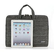 "Theoutlettablet® Funda bandolera de transporte tipo maletin para Tablet Cube_U30Gt2 10.1"" - GRIS"