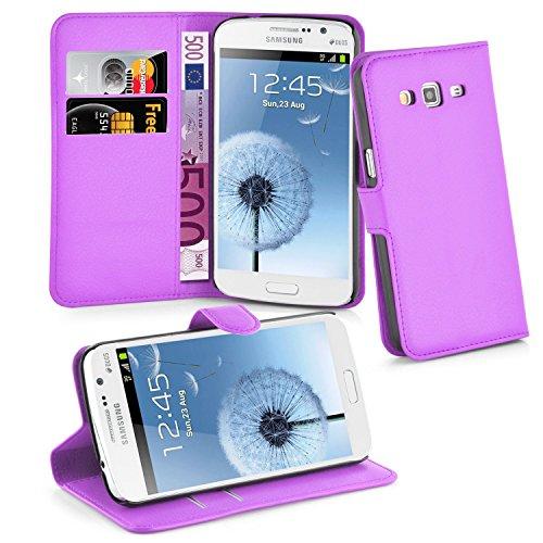 Cadorabo Hülle für Samsung Galaxy Grand 2 in Mangan Violett