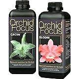 Orquídeas Focus abono Juego floración y crecimiento cada uno 1Ltr.