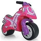 Rutscher/Motorrad in Rosa für Kinder ab 2 Jahren mit IML-Dekoration Neox Girl