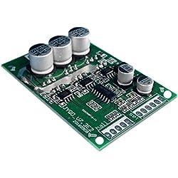 Baoblaze Controlador de Placa controladora 12V-36V Brushless DC Motor Stall Protection -Verde