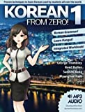 Korean From Zero! 1: Proven Methods to Learn Korean with included Workbook, MP3 Audio...