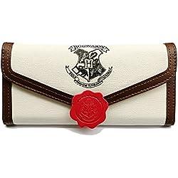 Cartera de Mujer Para Fanáticos de Harry Potter Diseñan Hogwarts Cartera Tarjetero Mujer Cartera Tela