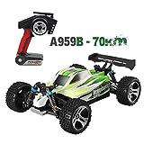 HKFV Motor High Speed 70km/h 1:18 4D 2.4G RC Car Wltoys A959B Upgraded 540 Brush Motor RC Monster