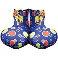 Adult Yellow Clown Shoe Covers By Dress Up America