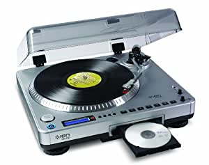 ION Audio LP2CD Digital Conversion Turntable with Built-in